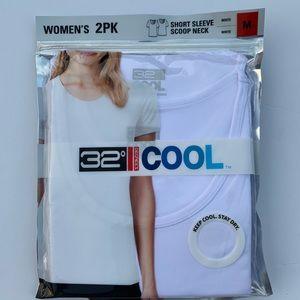 32 degrees 2 pack Short Sleeve, Scoop Neck T Shirt